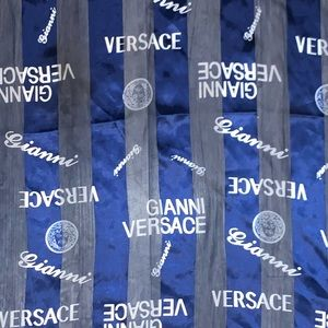 Gianni Versace silk scarf/head wrap